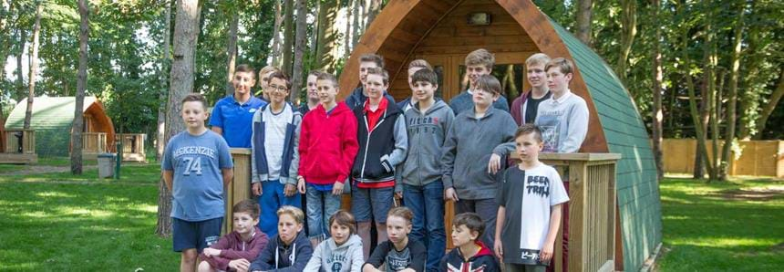 Residential school trip at Pinewood at Port Lympne Hotel & Reserve in Kent