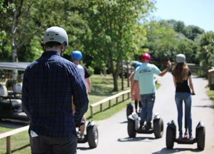 Segway tour at Port Lympne Reserve