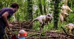 Dinosaur Forest at Port Lympne Hotel & Reserve in Kent