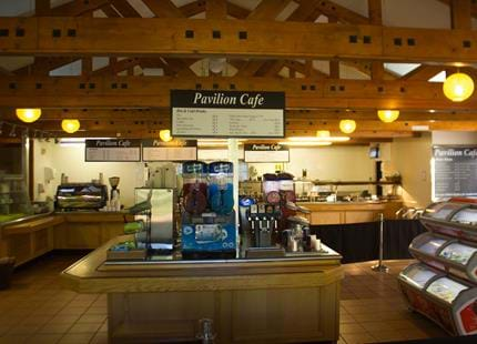 Pavilion Restaurant at Howletts Wild Animal Park in Kent