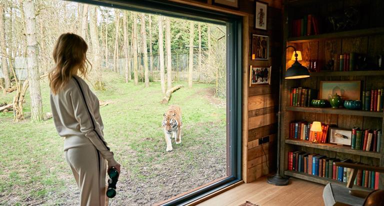 Tiger Lodge At Port Lympne Hotel Reserve