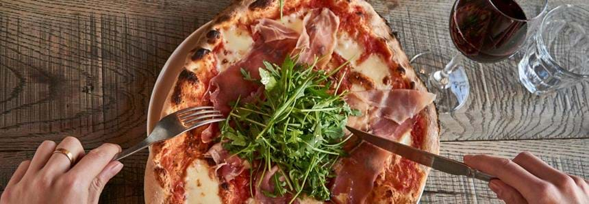 Babydoll's Wood Fired Pizza Restaurant at Port Lympne Hotel & Reserve in Kent