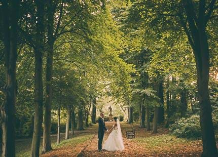Wedding photography venues at Port Lympne Hotel & Reserve, Kent