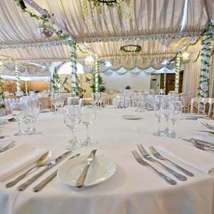 The Aspinall Suite at Port Lympne Hotel and Reserve in Kent is the ideal venue for your wedding reception