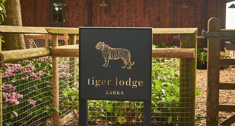 Tiger Lodge Short Breaks - Sleep Next To The Tigers   The Aspinall