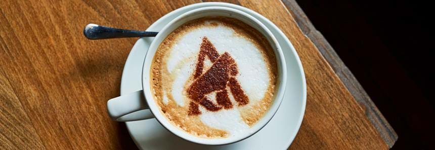Delicious coffee served at Howletts Wild Animal Park