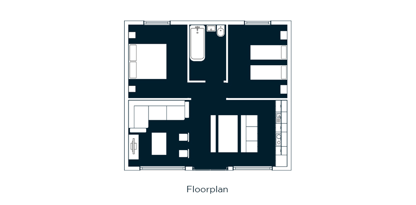 floorplan treehouse