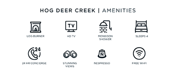 hog deer creek amenities