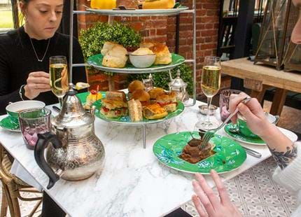 Afternoon tea in Kent at Port Lympne Hotel & reserve